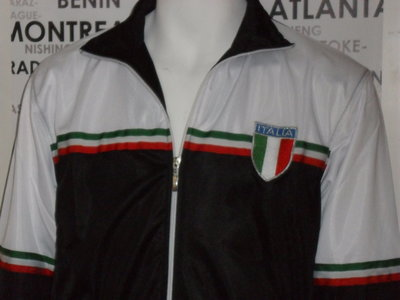 Heren Trainingsjack  Choices / Italia Black / SALE
