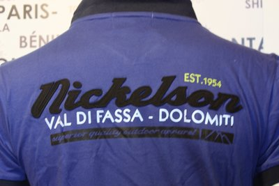 Heren Polo Shirt Nickelson / Edolo Cobalt