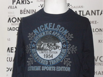 96844ad6a84 Heren Longsleeve Nickelson / Palermo Navy