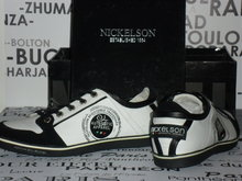 Herenschoenen Nickelson / Nino White