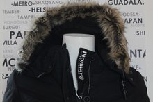 Dames Winterjas Geographical Norway / Calory Lady Black