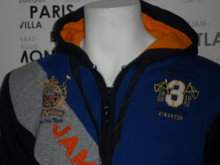 Heren Sweatvest Geographical Norway / Jamaica Blauw