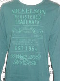 Heren-Longsleeve-Nickelson-Truck-Green